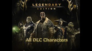 injustice 2 Legendary Edition All DLC Characters