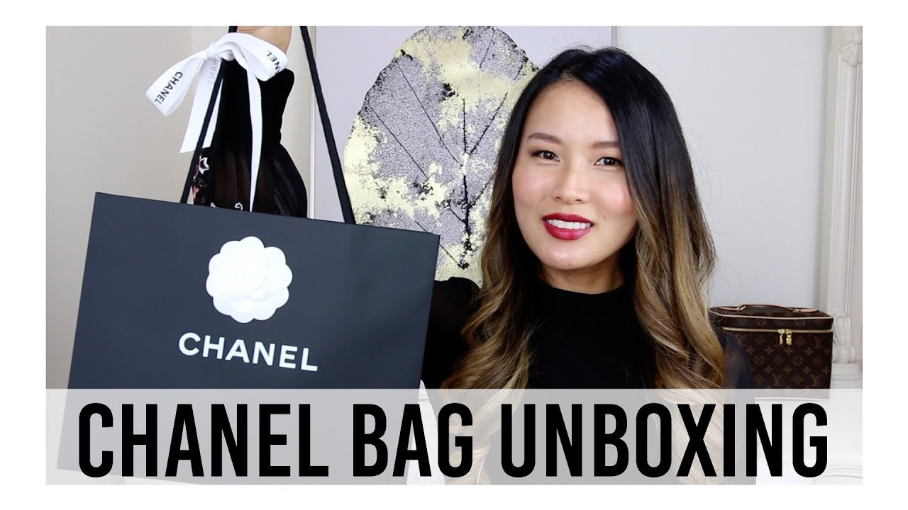 2a745e7e9340b0 CHANEL BAG UNBOXING 2018 | Chanel rectangular mini flap bag | Isabelle Ahn
