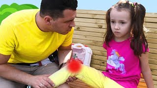 The Boo Boo Song #2 Nursery Rhymes & Kids Songs by Ulya