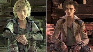 Violet and Louis Reveal The Truth About Their Pasts -All Choices- The Walking Dead Final Season Ep3