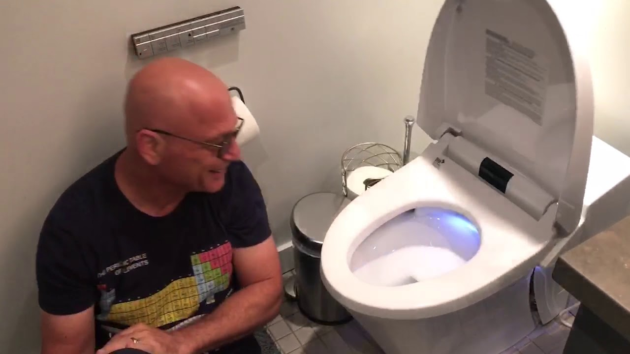 Howie Mandel And The AT200 SpaLet Bidet Toilet By DXV