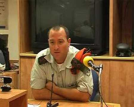 Web Conference with IDF Representative 26.7.06 (part 1)