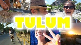 Tulum, les hippies, les ruines et nous - VlogauMexique 6