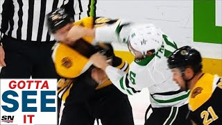GOTTA SEE IT: Pavelski & Krejci Exchange Huge Blows In Rare Fight