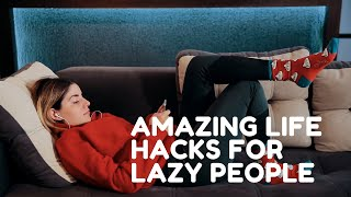 5 AMAZING LIFE HACKS FOR LAZY PEOPLE  RED BALLOON MEDIA