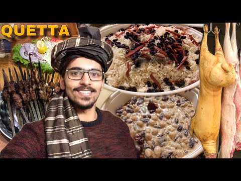TRADITIONAL HOMEMADE FOOD IN QUETTA BALOCHISTAN - LAMB & MUTTON DISHES IN PAKISTAN