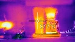 Flir-lämpökamera