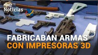 DESMANTELADO en TENERIFE el PRIMER TALLER de ARMAS fabricadas en IMPRESORAS 3D I RTVE
