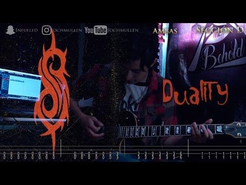 Como tocar Duality - Slipknot en guitarra tutorial paso a paso + Tabs