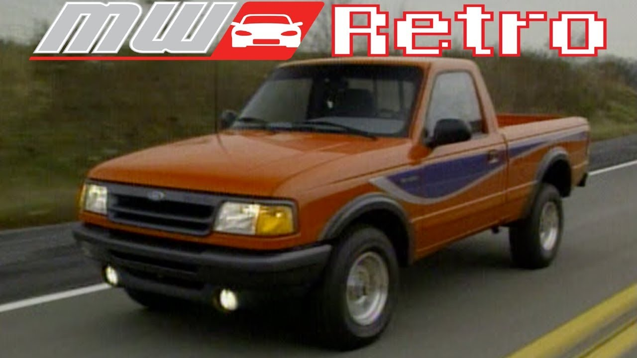 1993 Ford Ranger Stx Retro Review Youtube