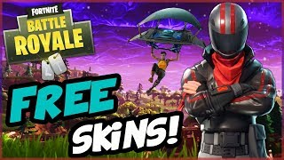 """How To Get FREE Fortnite Skins! 
