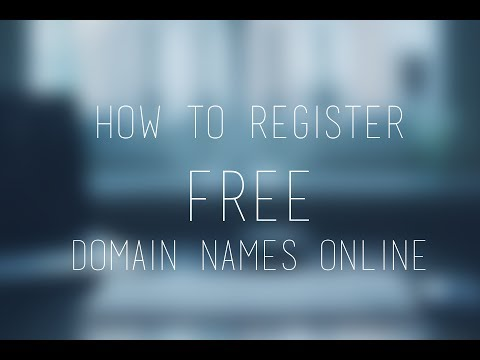 How to Register a FREE Domain Name Online | 100% Legal Way