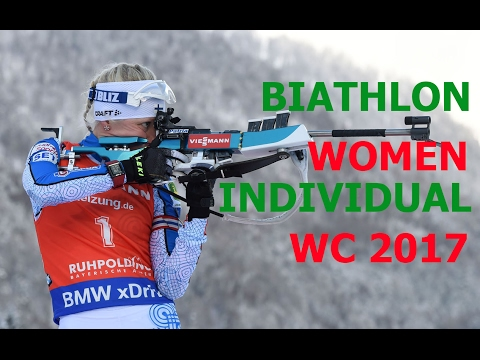 BIATHLON WOMEN INDIVIDUAL  15.02.2017 World Championships Ho