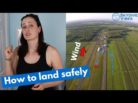 Learn To Skydive - Tips & Tricks For Landing Patterns