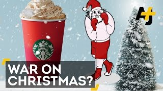 Did Starbucks Just Declare A 'War On Christmas' With Red Cups?