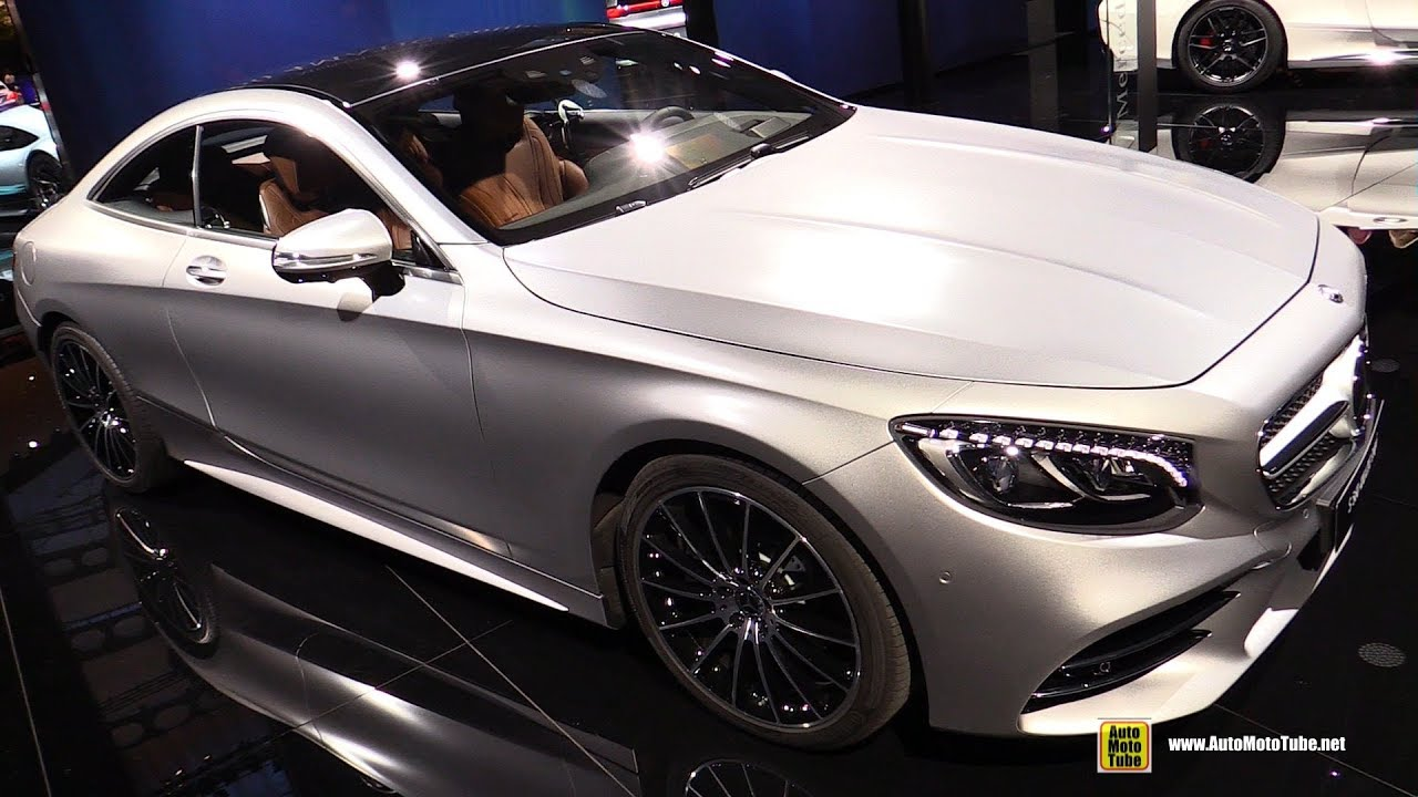 Mercedes Benz Of Orlando >> 2018 Mercedes S560 4Matic Coupe - Exterior and Interior Walkaround - 2017 Frankfurt Auto Show