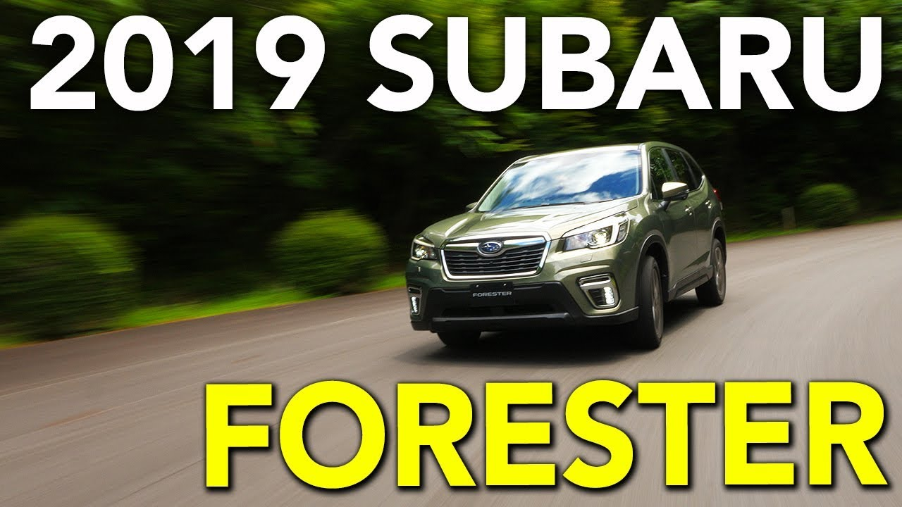 2019 Subaru Forester Review Youtube