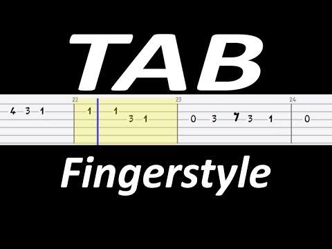 🎸 Pójdźmy Wszyscy do Stajenki - łatwy fingerstyle TAB 🎸