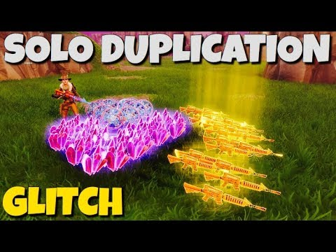 *SOLO* DUPLICATION GLITCH !! WORKS EVERY TIME !! Fortnite Save The World