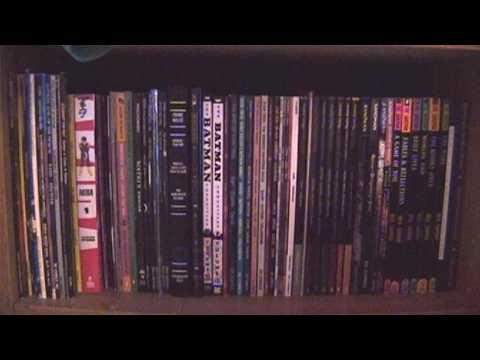 The Graphic Novel/Trade Paperback Comics Shelf