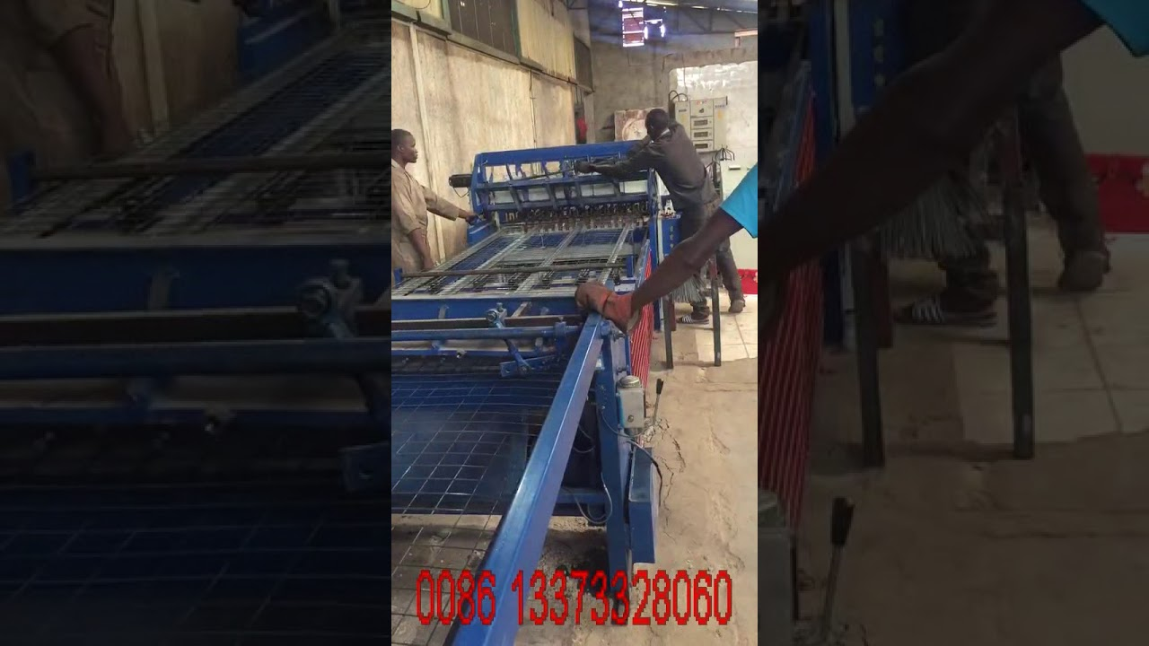 1250mm welded wire mesh panel machine for construction use