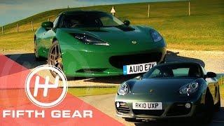 Fifth Gear Porsche Vs Lotus Shootout смотреть
