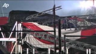 Raw Video: Five Killed in Belgium Stage Collapse