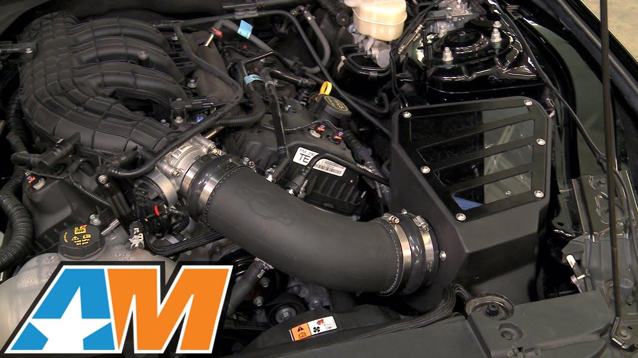 Dyno: 2015-2017 Mustang C&L Cold Air Intake (V6) Review & Install