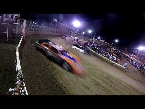LM Feature Turn one gate cam  at Belle-Clair Speedway 8-23-19