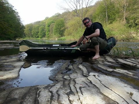 kayaking and wild camping solo along the river