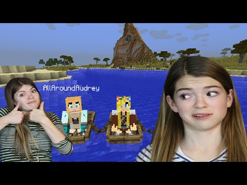 Audrey and Jordan play Minecraft [1]