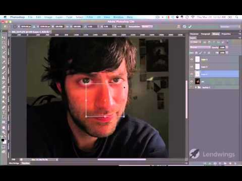 58  Изменение размера частей тела  Photoshop CS6