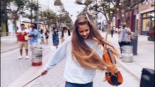 Firework - Karolina Protsenko - Violin Cover - Street Performance