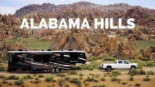Alabama Hills Boondocking with His & Hers Vlogs