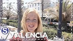 Valencia, Spanien mit Stadt und Strand | Weltreise #23