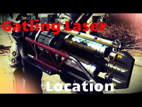 How to get a Gatling Laser - Fallout 4