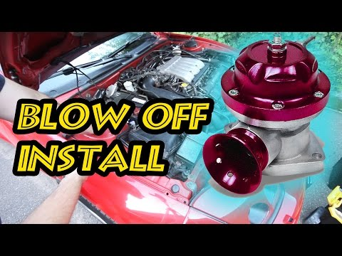 Blow Off Valve - Instruction Tutorial