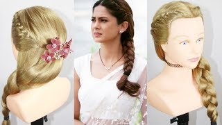 Braid Hairstyle | jennifer winget hairstyle | Beautiful Hairstyle | Easy Hairstyles