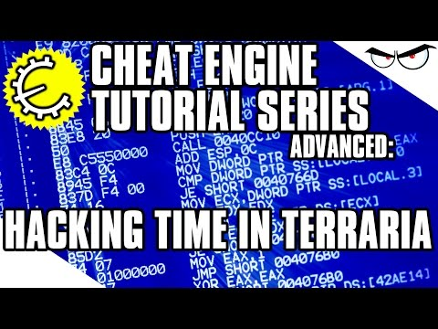 Cheat Engine 6.4 Tutorial Part 11: Finding Time In Terraria And Customizing AOB Scripts!