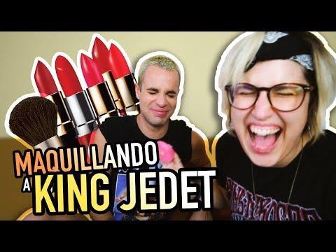 Maquillando a mi Novio | Chica Maquilla a Chico | YellowMellow y King Jedet