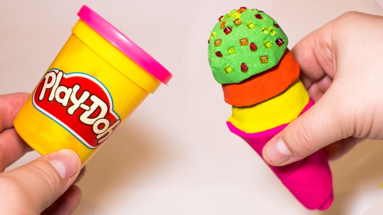 Поделка из плей до конфеты