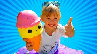 Ice Cream Song for Children | Nursery Rhymes by Chiko TV
