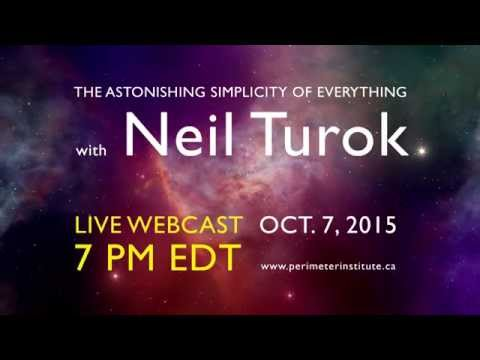 Neil Turok and the Astonishing Simplicity of Everything: Webcast Trailer