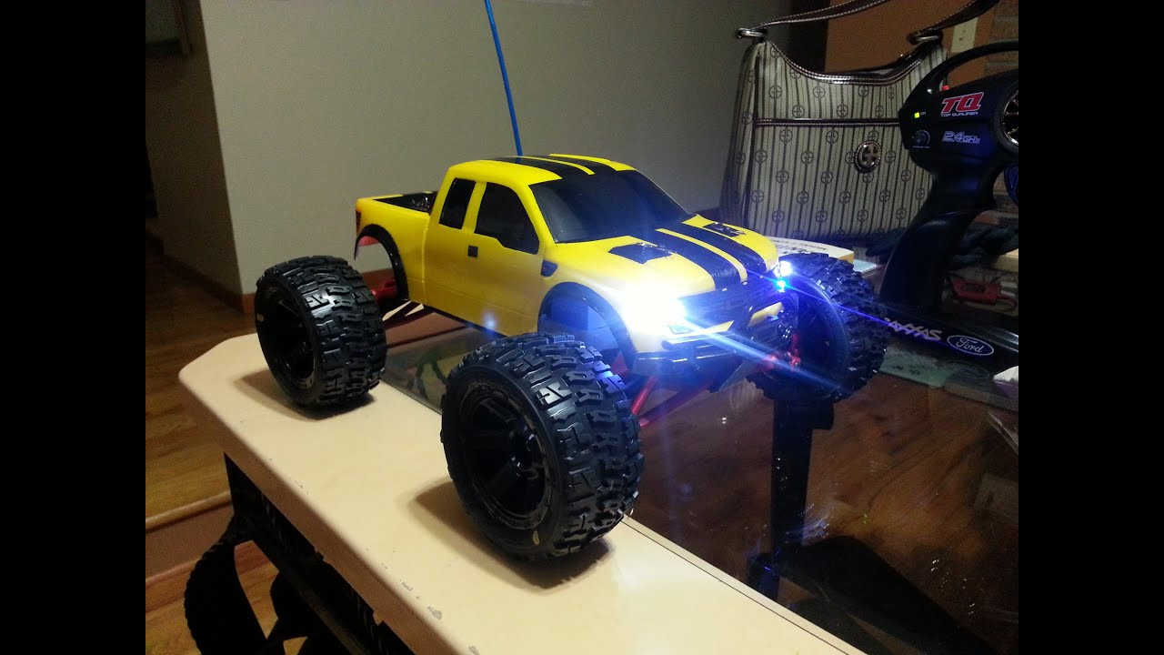 1 16 E REVO VXL Brushless Ford Raptor Body Shell Backflip