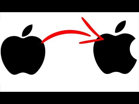 Why the apple logo has a bite taken out of it
