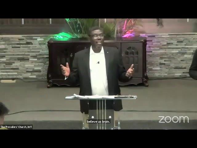 Prospect of Eternal Pursuit (MoC) 09.05.21 Apostle Diran