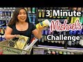 BUYING MY ART SUPPLIES IN 3 MINUTES