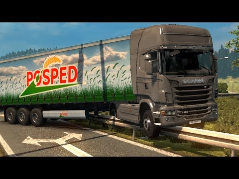 A Man Who Can't Drive plays Euro Truck Simulator