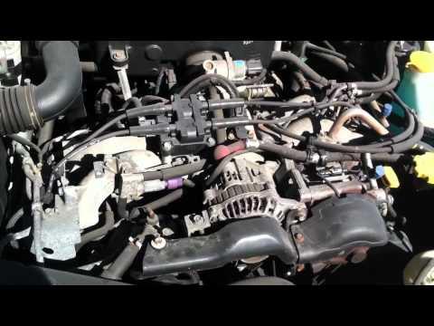 2002 Subaru Legacy L engine