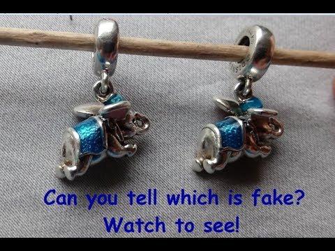 pandora charm bracelet real or fake
